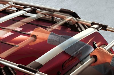 Roof Rack System Possible Tesla Motors